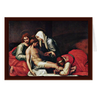 Entombment By Bartolomeo Fra Card