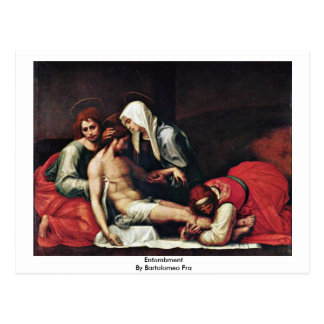 Entombment By Bartolomeo Fra Postcards