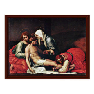 Entombment By Bartolomeo Fra Post Cards