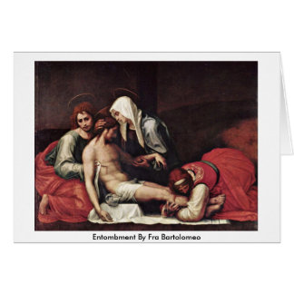 Entombment By Fra Bartolomeo Greeting Cards