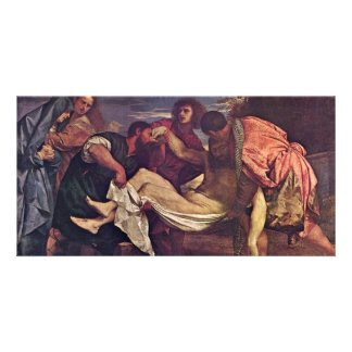 Entombment By Tizian (Best Quality) Photo Cards
