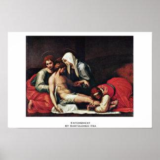 Entombment de Bartolomé Fra Póster