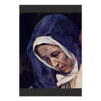 Entombment de Cristo de Miguel Ángel Merisi DA Posters