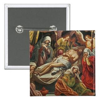 Entombment de Cristo, Villabranca Pin Cuadrada 5 Cm