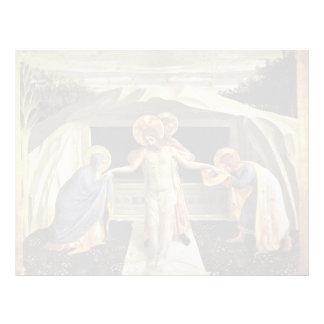 Entombment del Fra Angelico- Membrete Personalizado