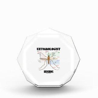 Entomologist Inside (Mosquito Anatomy) Acrylic Award