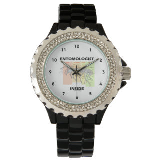 Entomologist Inside (Worker Ant Anatomy) Wristwatch