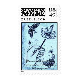 Entomology. Postage Stamp