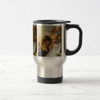 Entonces y ahora detalles de Francisco De Goya Taza De Viaje