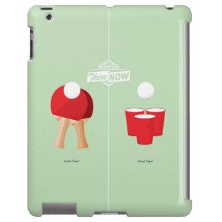 Entonces y ahora: Ping-pong Funda Para iPad