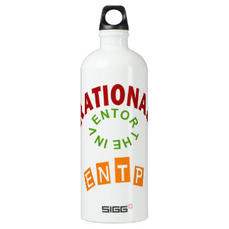 ENTP Rational personality Aluminum Water Bottle