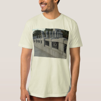 Entrace Stairs to WWII Memorial Tee Shirt