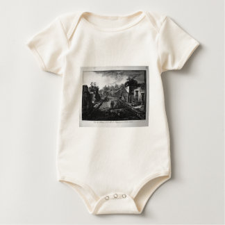 Entrada a la ciudad de Pompeya con la existencia Mamelucos De Bebé