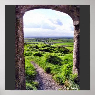 Entrada a la impresión de Irlanda Póster