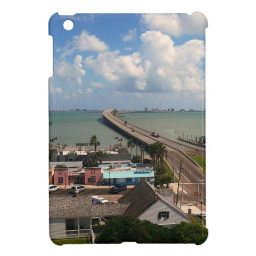 Entrada a la isla del sur de Padre iPad Mini Cárcasas