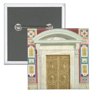 Entrada a la logia de Raphael en el Vatican, de Pin Cuadrado