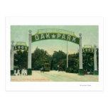 Entrada a la opinión de Oak Park Postales