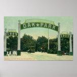 Entrada a la opinión de Oak Park Poster