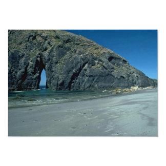 Entrada a la playa invitación 12,7 x 17,8 cm
