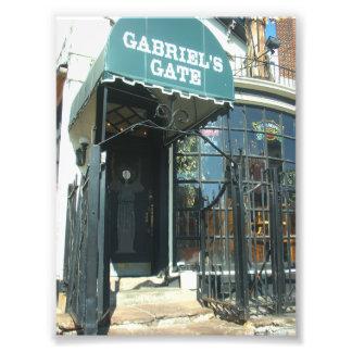 Entrada a la puerta de Gabriel en el búfalo NY Fotografia
