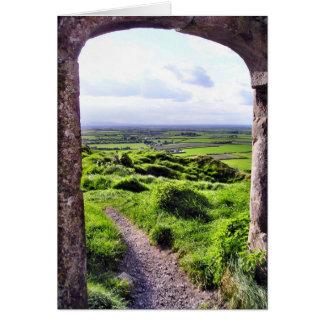 Entrada a la tarjeta de Irlanda