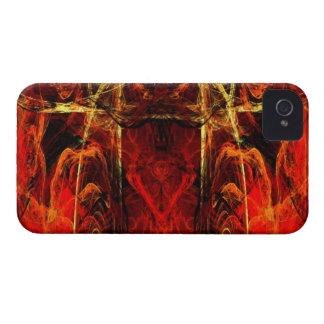 Entrada a la tortura eterna iPhone 4 Case-Mate protector