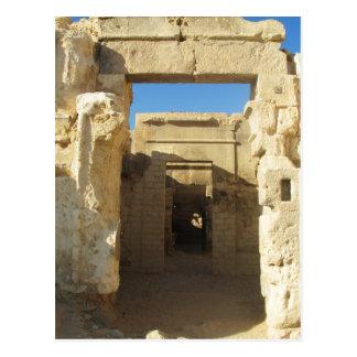 Entrada a Oracle del Amon - oasis de Siwa Postal
