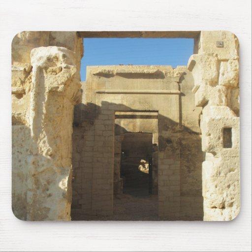 Entrada a Oracle del Amon - oasis de Siwa Tapete De Ratones