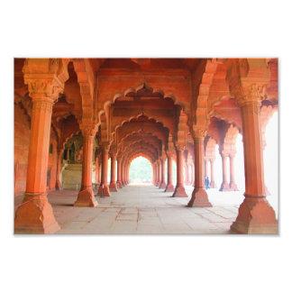 Entrada a un palacio en la India Fotografías