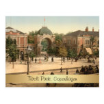 Entrada adaptable Copenhague del parque de Tivoli Postales