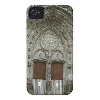 Entrada adornada de la arcada con pasado de moda Case-Mate iPhone 4 protectores
