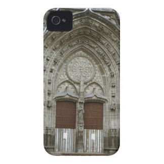 Entrada adornada de la arcada con pasado de moda iPhone 4 coberturas