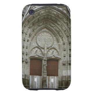 Entrada adornada de la arcada con pasado de moda iPhone 3 tough carcasa