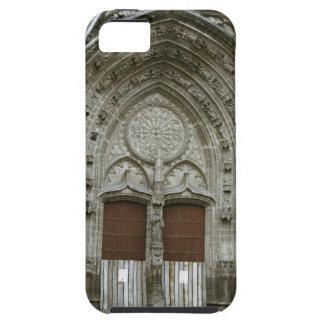 Entrada adornada de la arcada con pasado de moda iPhone 5 carcasa