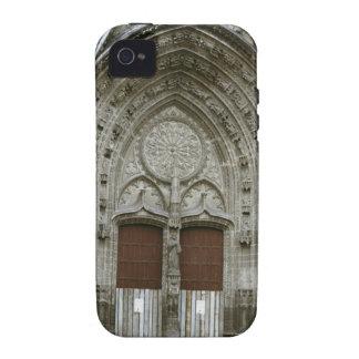 Entrada adornada de la arcada con pasado de moda iPhone 4 carcasas