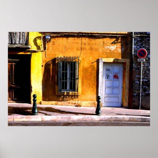 Entrada, Aix-en-Provence Póster