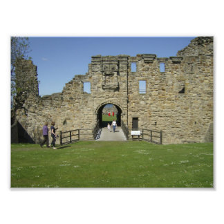 Entrada al castillo de Saint Andrews Foto
