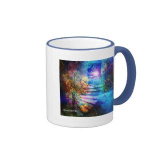 Entrada al cielo taza de café