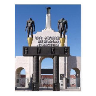 Entrada al coliseo conmemorativo de Los Ángeles C Postales