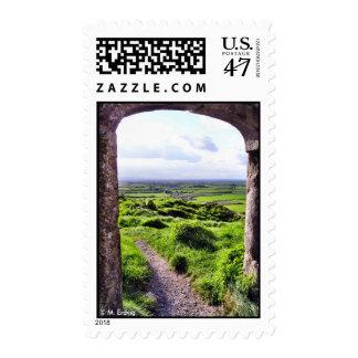 Entrada al franqueo de Irlanda Sello Postal