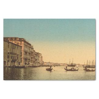 Entrada al Gran Canal I, Venecia, Italia Papel De Seda Pequeño