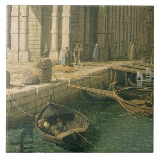 Entrada al Gran Canal: Pareciendo del oeste, c.173 Azulejos