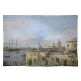 Entrada al Gran Canal por Canaletto Mantel