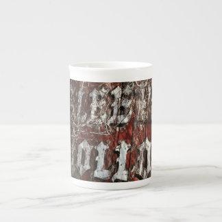 Entrada al hueco soñoliento taza de porcelana