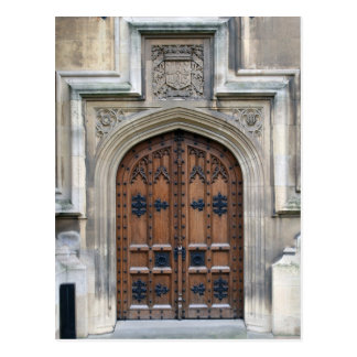 Entrada al parlamento en Westminster Tarjeta Postal