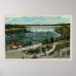 Entrada al parque de Victoria, Niagara Falls, Cana Poster