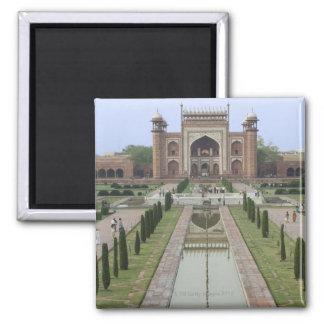 Entrada al Taj Mahal, la India Imán Cuadrado