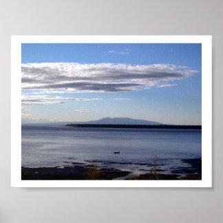 ENTRADA ANCHORAGE, ALASKA DEL COCINERO IMPRESIONES