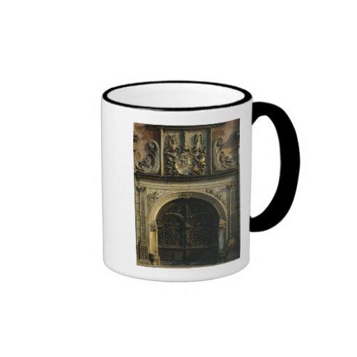 Entrada ayuntamiento taza de café