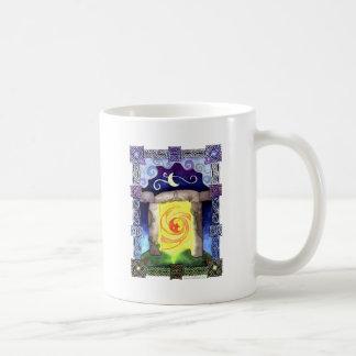 Entrada céltica tazas de café